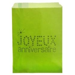 Sac Anniversaire Vert (Sachet de 24 pièces)
