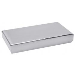 Boîte rectangle Argent...