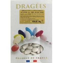 dragées blanche  avola 500g