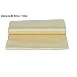 Chemin de table ivoire