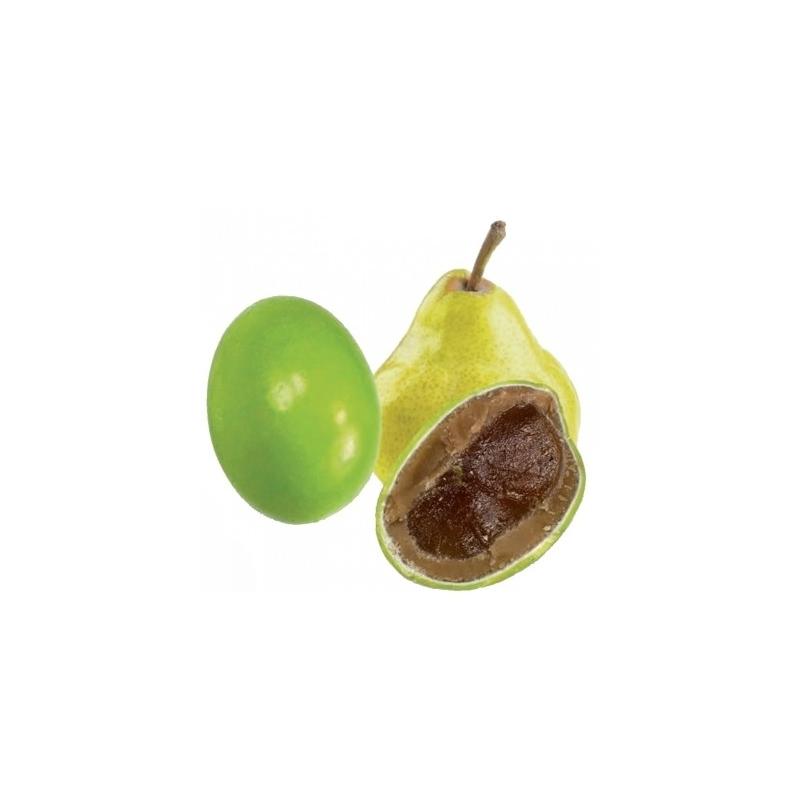 Dragées poire-chocolat