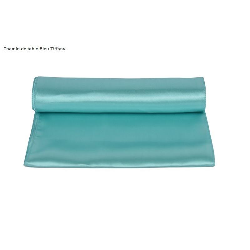 Chemin de table bleu Tiffany