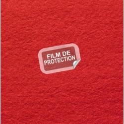 Tapis rouge Tapis rouge avec film de protection