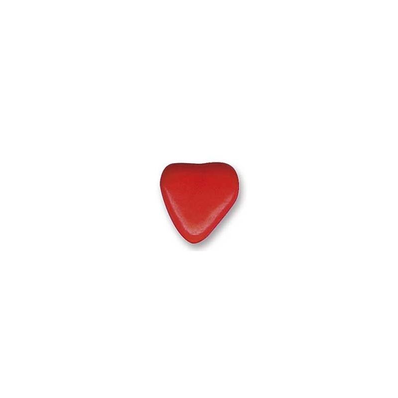 Dragées petits cœurs au chocolat Rouge - 500 gr