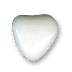 Dragées petits cœurs au chocolat- Blanc - 500g