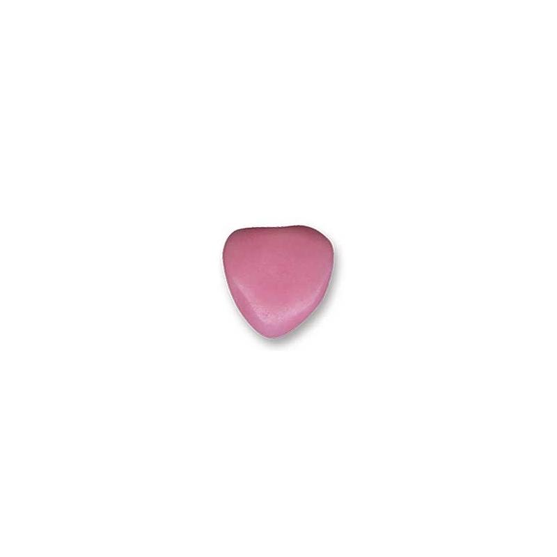 Dragées petits cœurs au chocolat- Rose - 500g