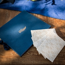 Livre d'or Fougère Marine cuivre