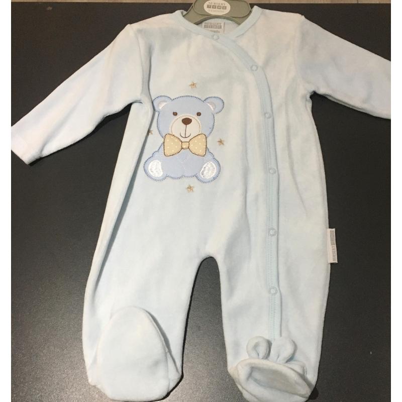 Pyjama bleu 3-6 mois