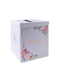 urne aquarelle merci papier dorure