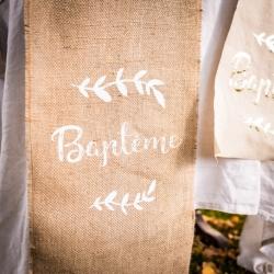 Chemin de table baptême...