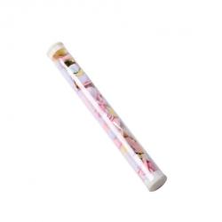 5 baguettes de confettis rose