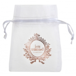 10 Sachets Just Married Rose Gold