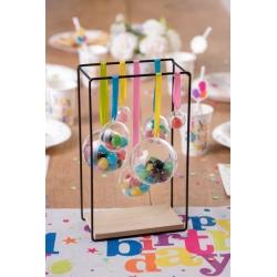 100 Boules transparentes