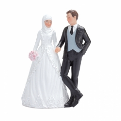 Couple mariés musulman