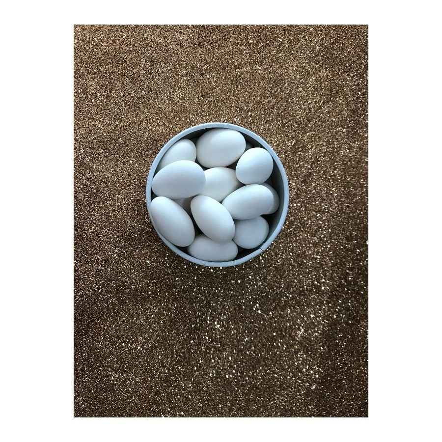 Dragées fines blanches - 500gr