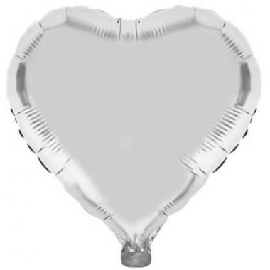 Ballon métallisé couleur Argent