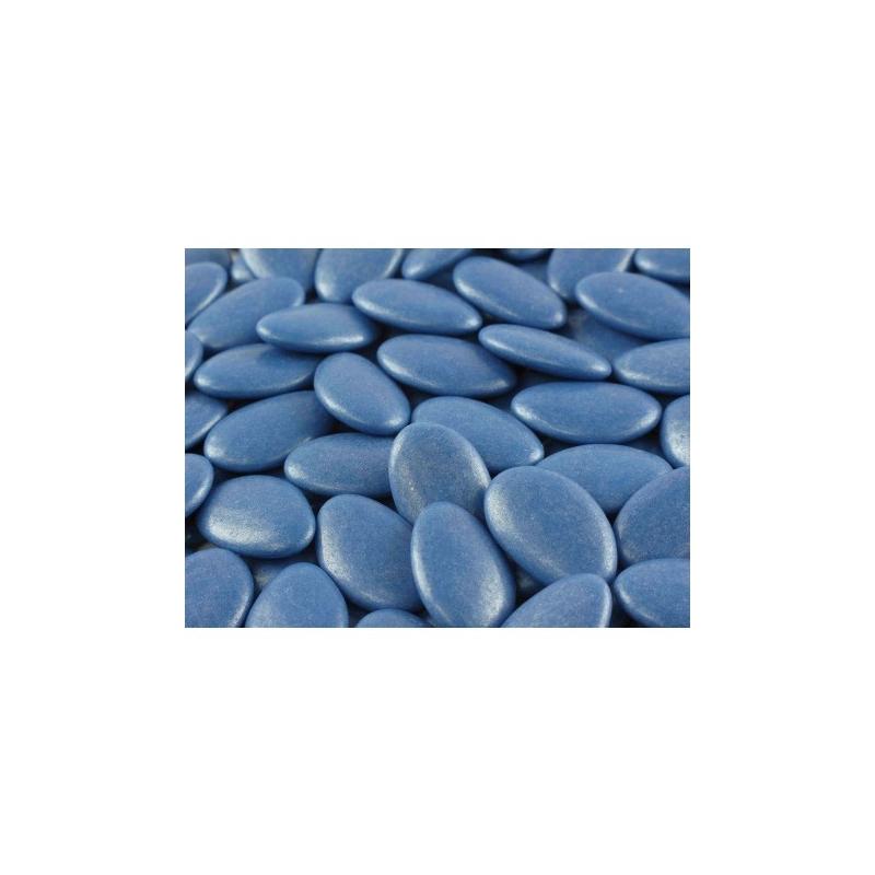 Dragées castille de couleur bleu marine