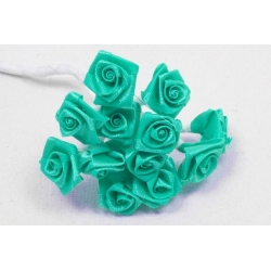 MINI-ROSE EN SATIN JADE