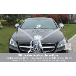 KIT DECORATION VOITURE