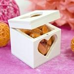 Boîte à dragées en bois
